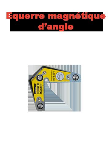 equerre magnetique d'angle page présentation
