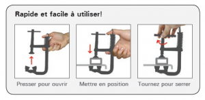 serre-joint magspring fonctionnement