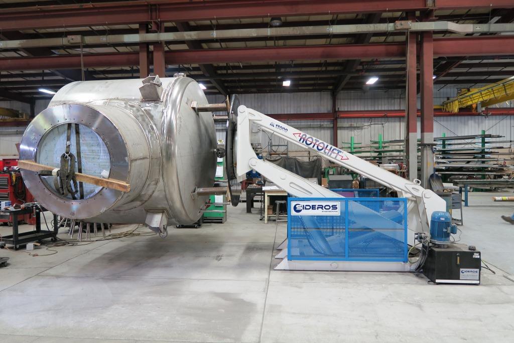 rotolift 13000 kg positionneur 3 axes