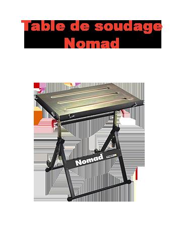 table de soudage nomad page présentation
