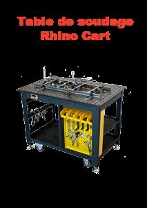 table de soudage rhino cart page présentation