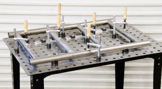 table de soudure modulable exemple 2