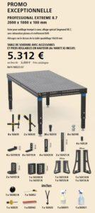offre spéciale table de montage et soudage systeme 16