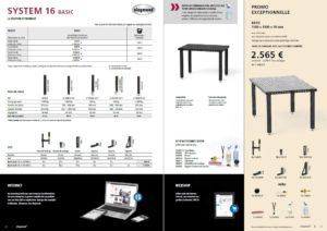 table de montage et de soudage systeme 16 basic