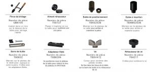 accessoires table de soudage modulaire