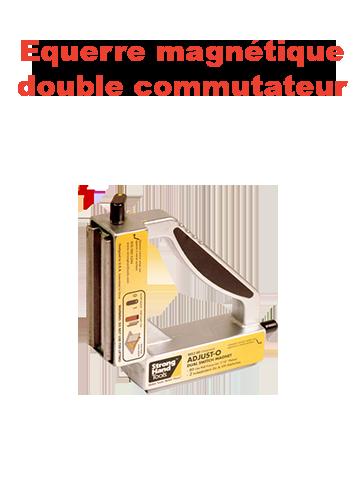 equerre magnetique double commutateur page présentation