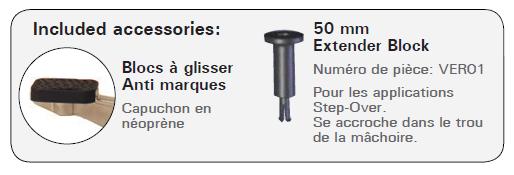 accessires serre-joint à serrage rapide EZ