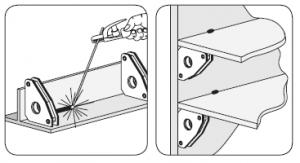 exemple équerre magnétique standard