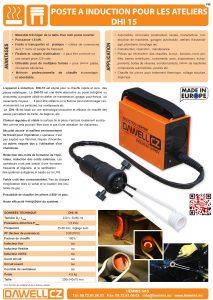 documentation poste à induction dhi-15