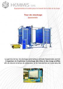 documentation tour de stockage spaziomatic