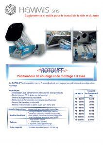positionneur 3 axes rotolift-brochure