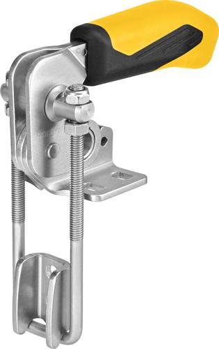 sauterelle à crochet verticale poignée jaune amf 6848VY