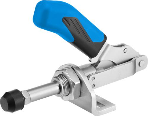 sauterelle à tige coulissante inox poignée bleue amf 6841NIE