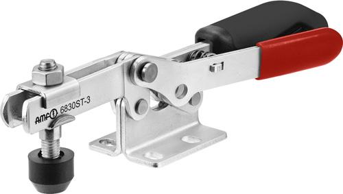 sauterelle horizontale avec verrouillage de sécurité poignée noire amf 6830ST
