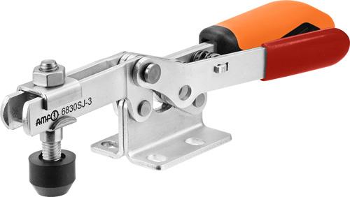 sauterelle horizontale avec verrouillage de sécurité poignée orange amf 6830SJ