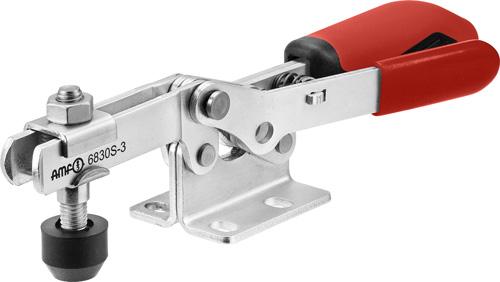 sauterelle horizontale avec verrouillage de sécurité poignée rouge amf 6830S