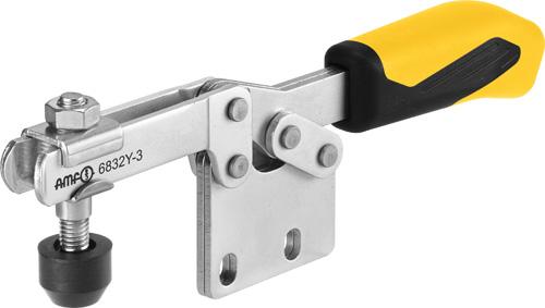 sauterelle horizontale poignée jaune amf 6832Y
