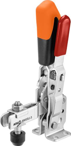 sauterelle verticale à verrouillage de sécurité poignée orange amf 6800SJ