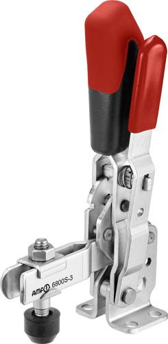 sauterelle verticale à verrouillage de sécurité poignée rouge amf 6800S