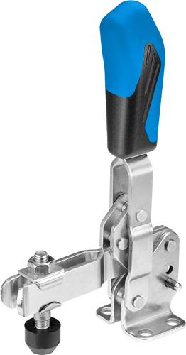 sauterelle verticale inox poignée bleue amf 6800NIE