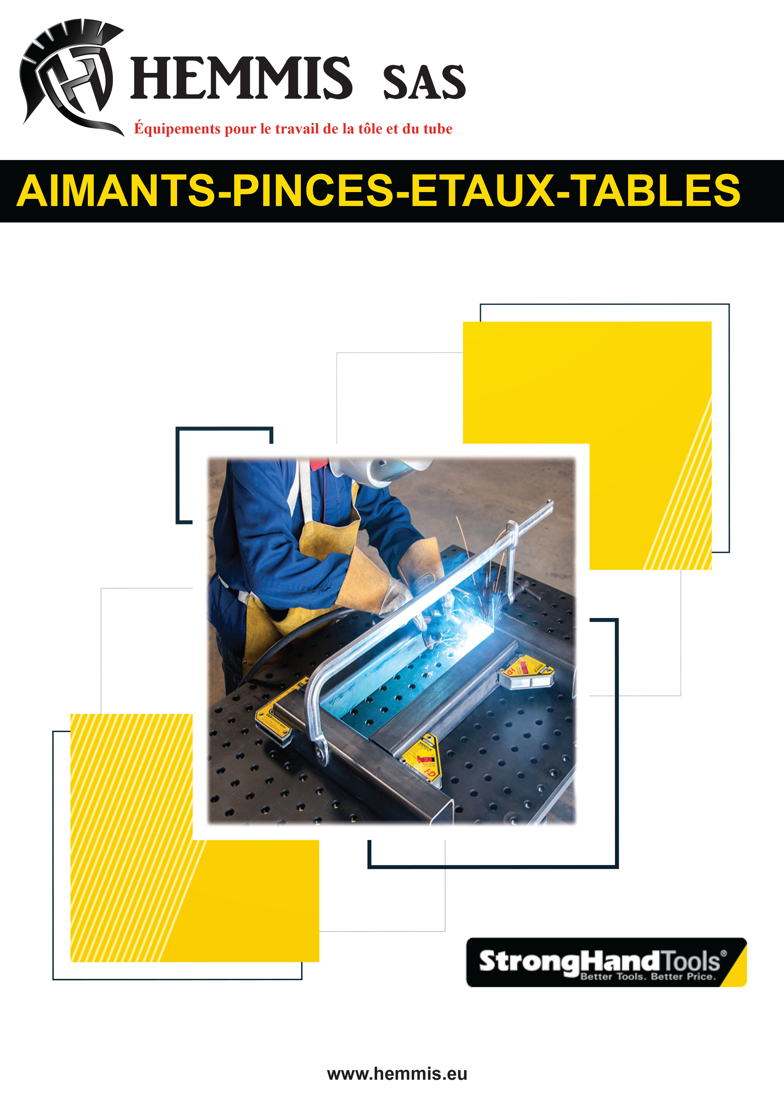 Catalogue aimants pinces tables de soudure strong hand tools