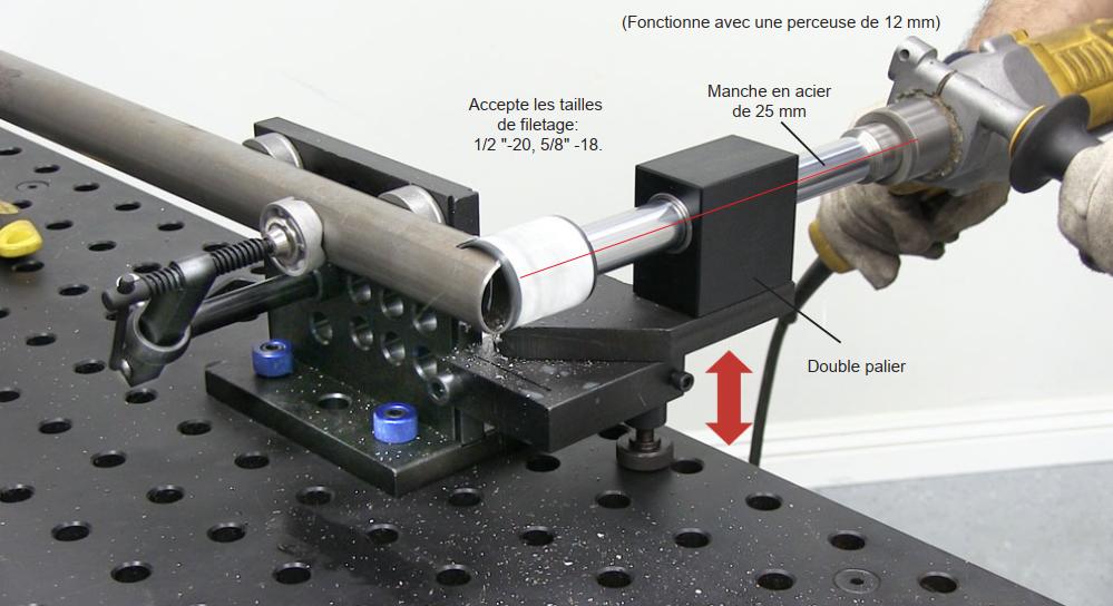 présentation grugeuse pour tuyau strong hand tools