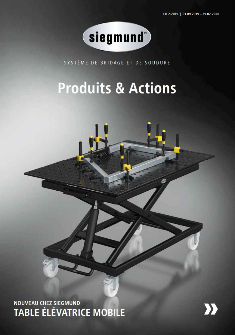 Catalogue aimants pinces tables de soudure strong hand tools