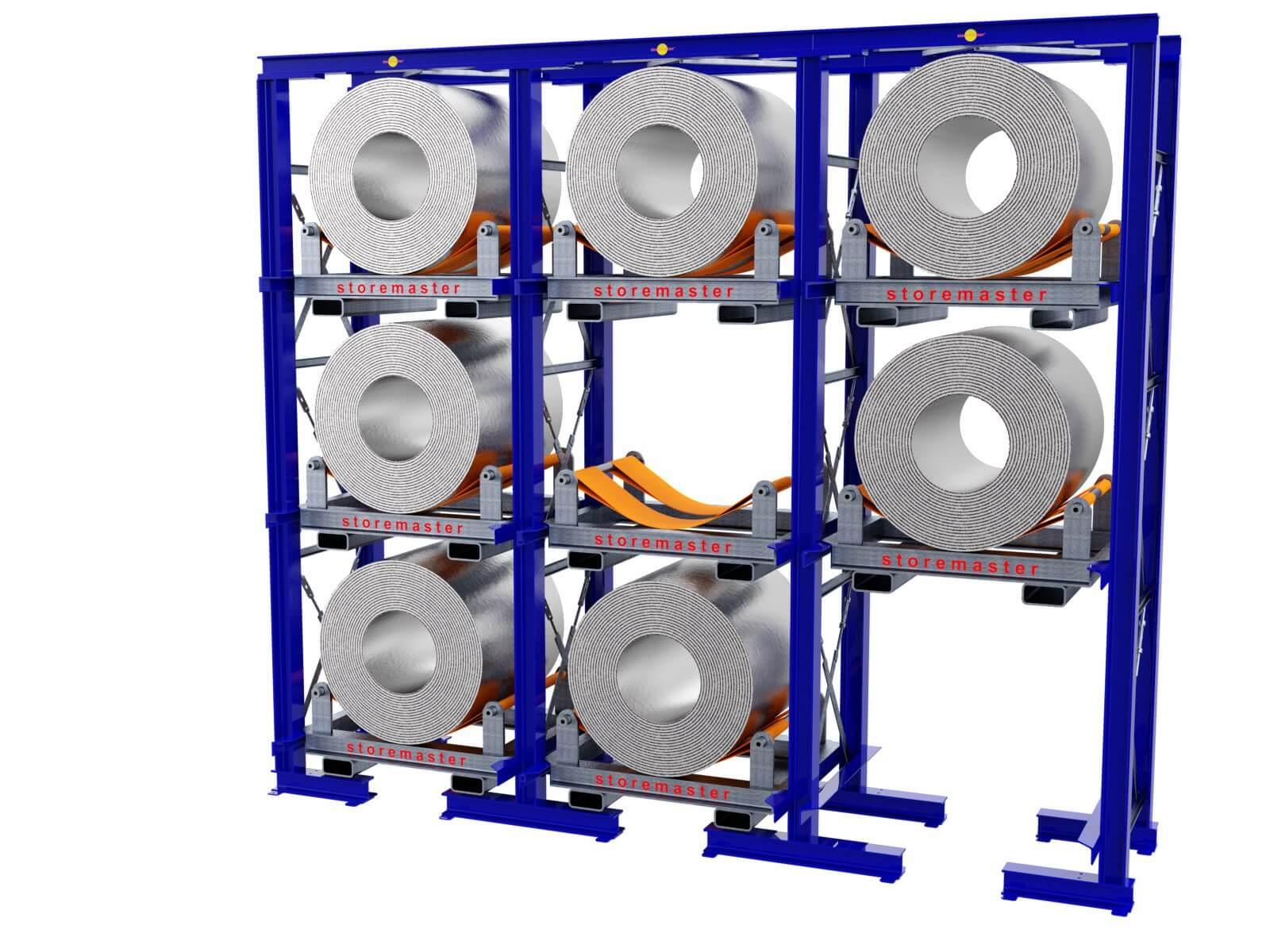 tour stockage bobine coilstore charge lourde storemaster
