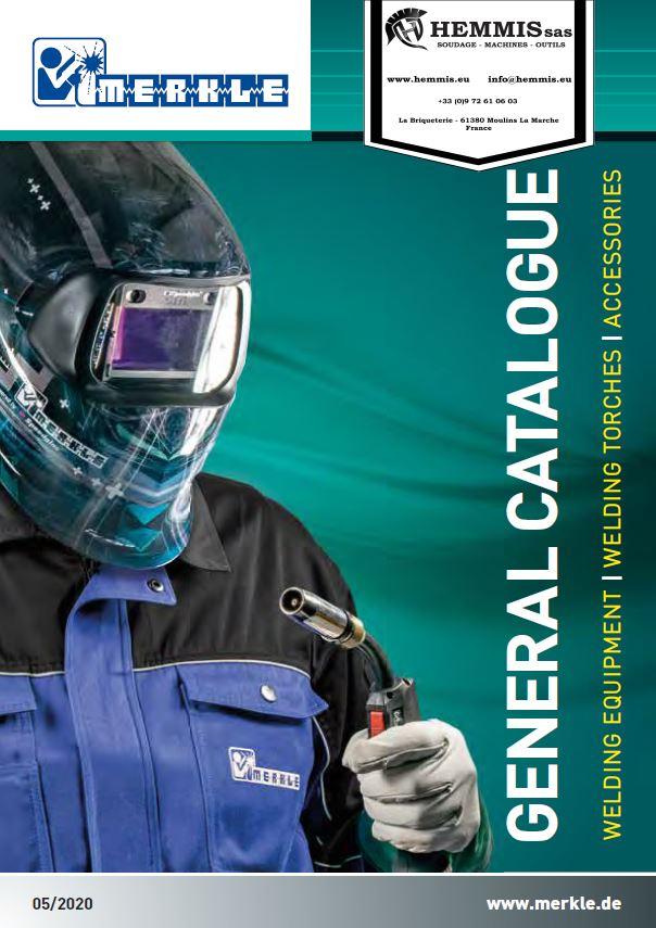 couverture catalogue général postes de soudage Merkle