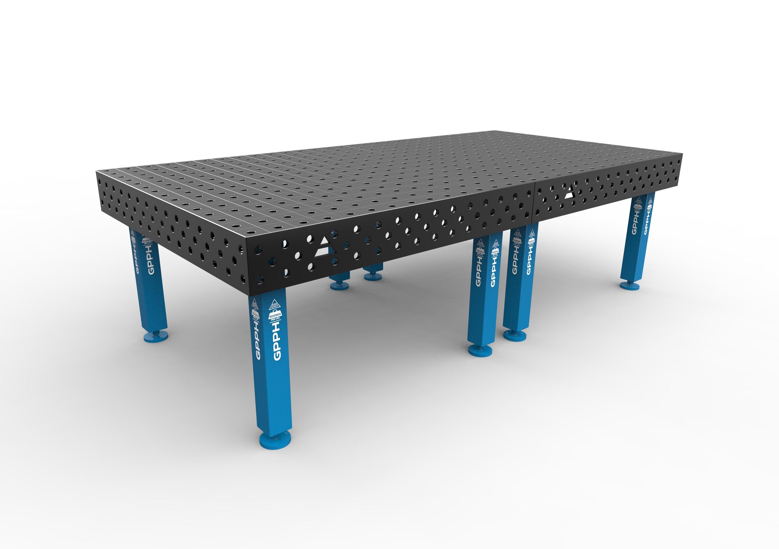 table de soudage traditionnelle 3000 x 1480 gpph