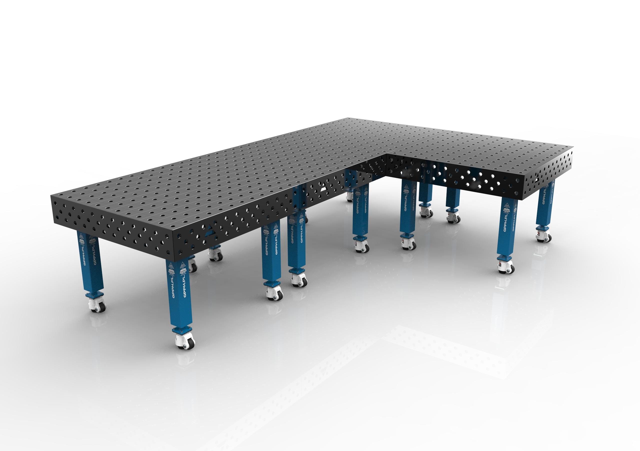 assemblage de 4 tables de soudage gpph