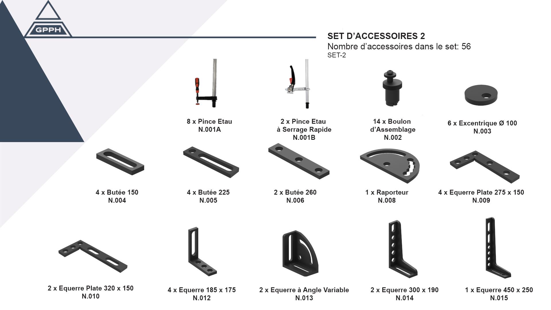 set-2 accessoires GPPH