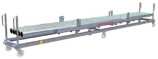 chariot pour barres tubes profilé long flexibolo storemaster