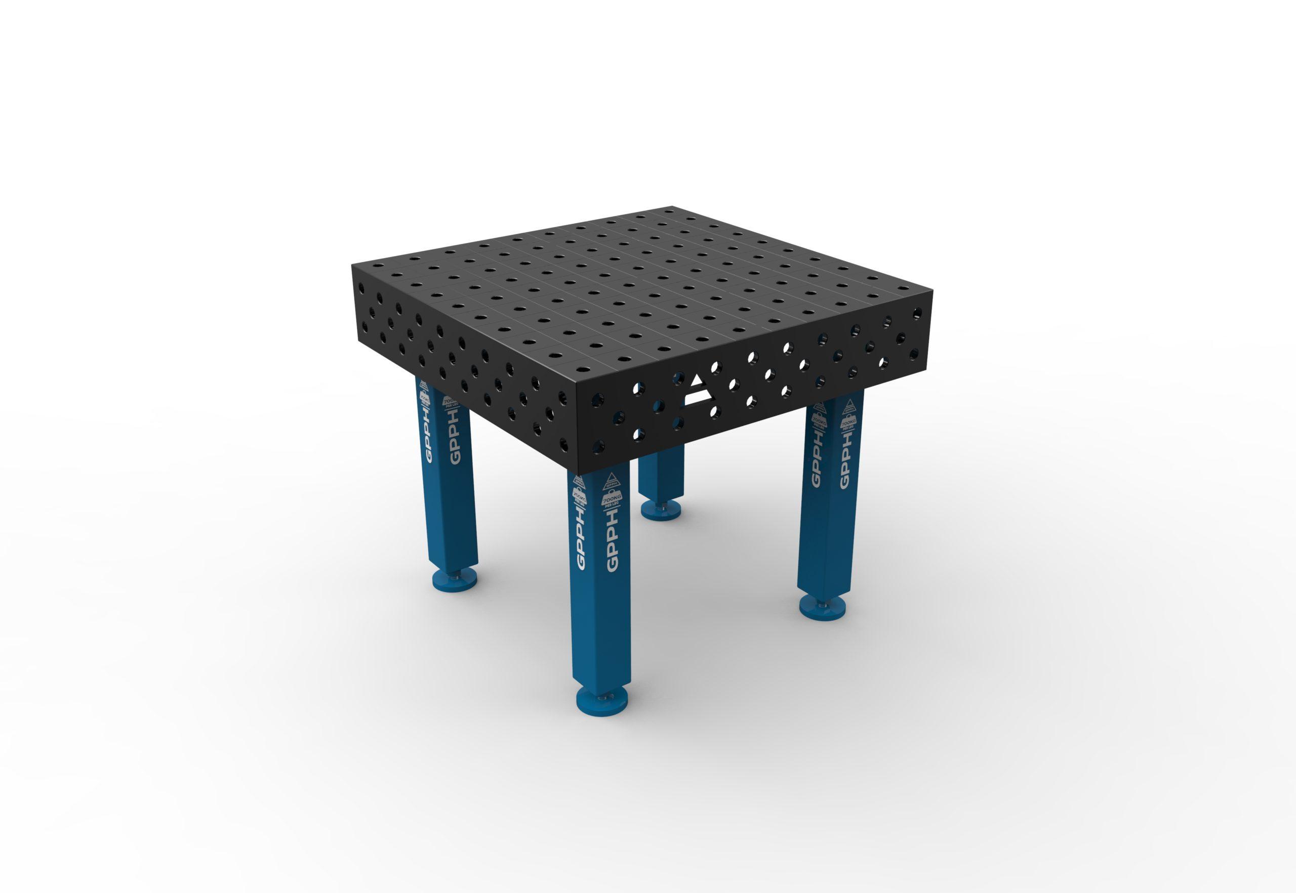 Table de soudage 1000 x 1000 mm de GPPH