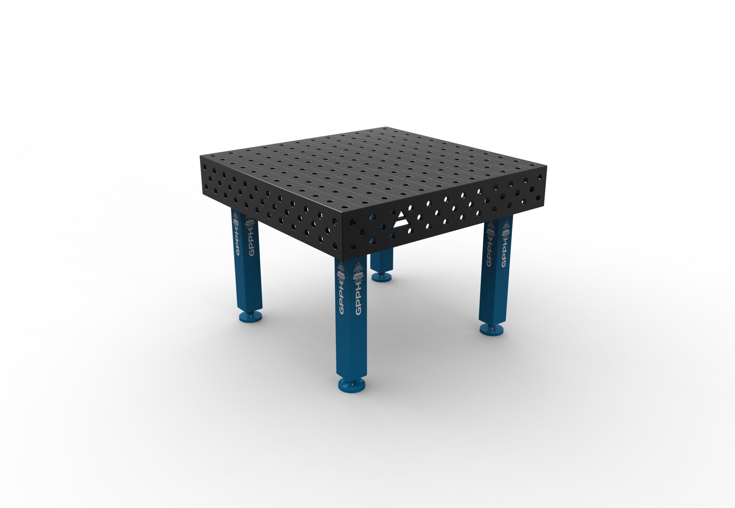 Table de soudage 1200 x 1200 mm de GPPH