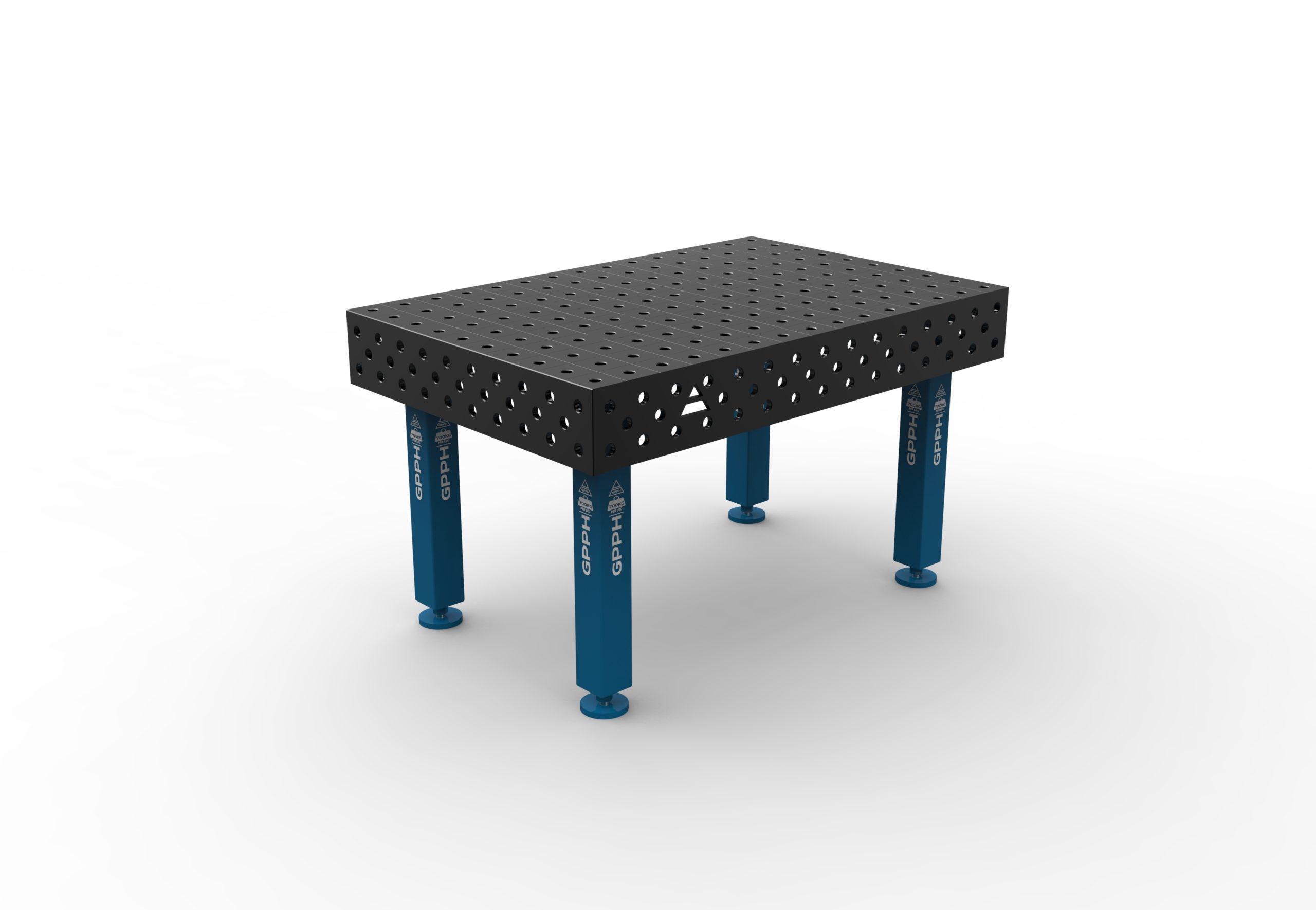 Table de soudage PRO 1500 x 1000 mm de GPPH