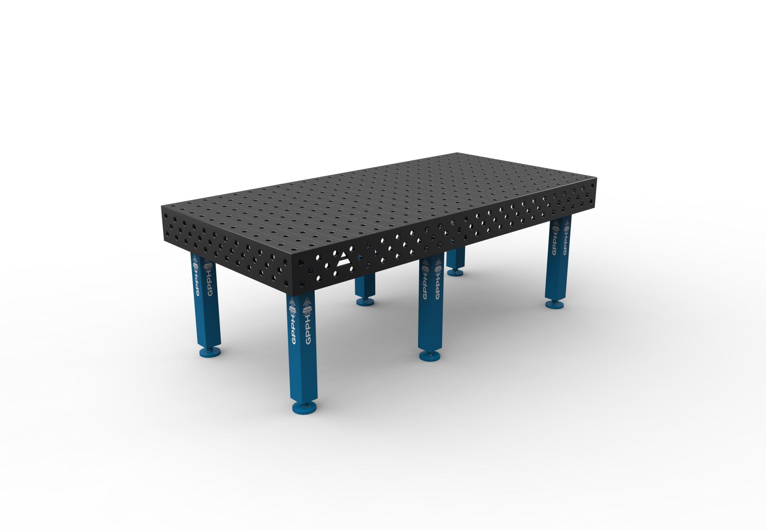 Table de soudage PRO 2400 x 1200 mm de GPPH