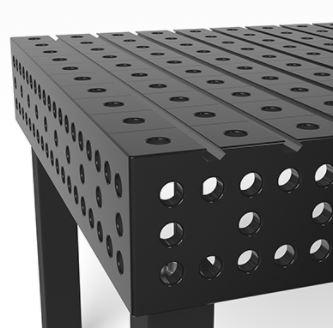 matière table à rainures hexagonales siegmund