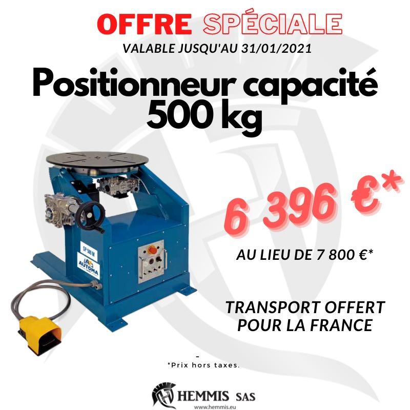 Offre spéciale positionneur de soudage500 kg (1)