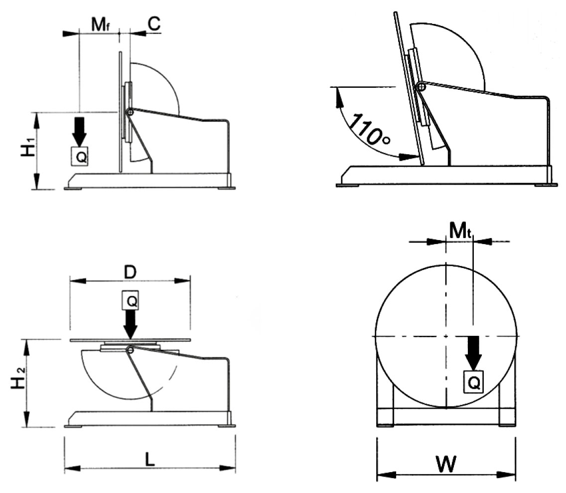schema positionneur sp 500 m
