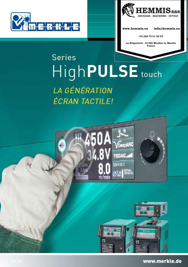 couverture flyer highpulse touch merkle