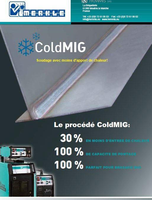 Procédé ColdMIG de Merkle