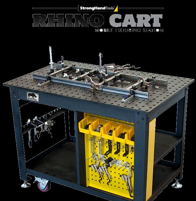 Rhino Cart: petite table mobile de montage et de soudage